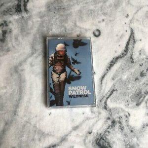 SNOW PATROL- WILDERNESS cassette tape
