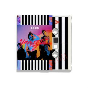5 SECONDS OF SUMMER- YOUNGBLOOD cassette tape