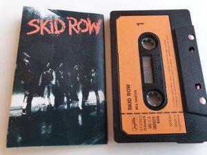 skid row audio cassette