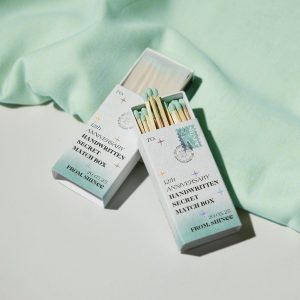 Kpop Merch SHINee matchstick
