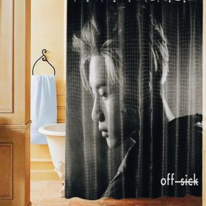 Taemin (SHINee) shower curtain