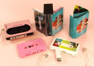 , 10 Music USB Flash Drive Albums That Look Like Real Cassette Tapes