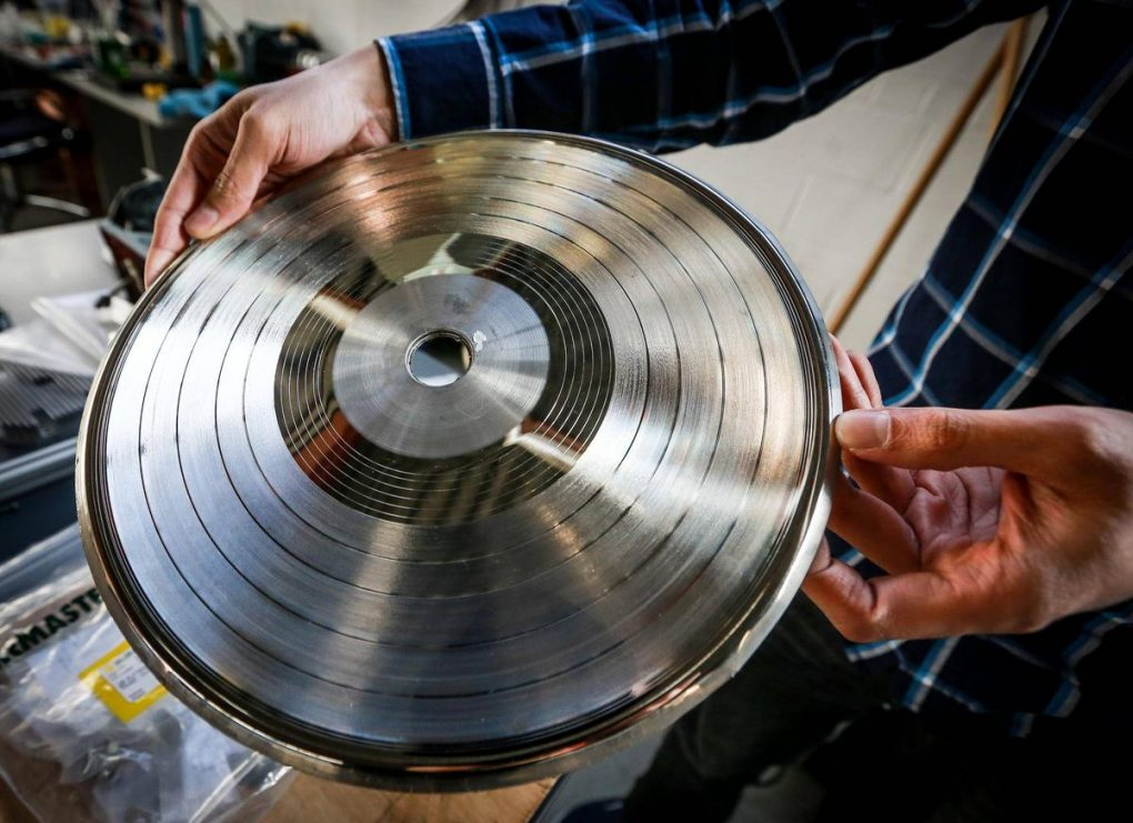 vinyl record DIY