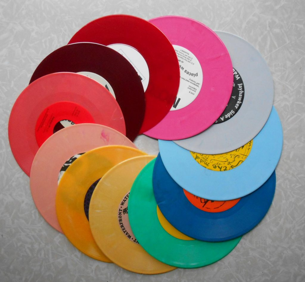 colored vinyl records, How to press colored vinyl records (and have them shipped directly to your fans)