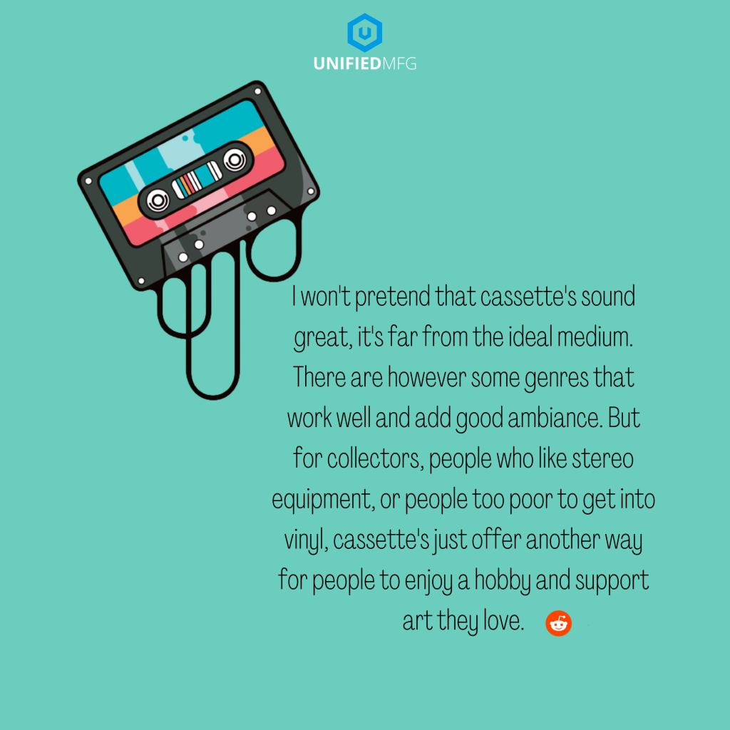 Cassette tapes, Redditors on Why They Love Cassette Tapes
