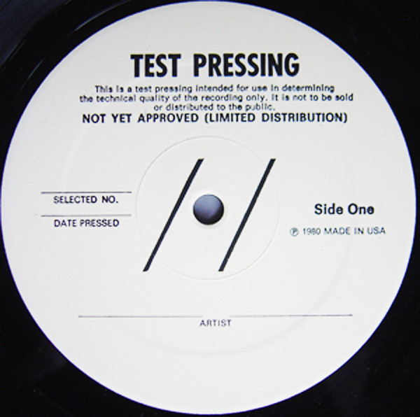 , Easy step-by-step guide in pressing 100 units of vinyl records