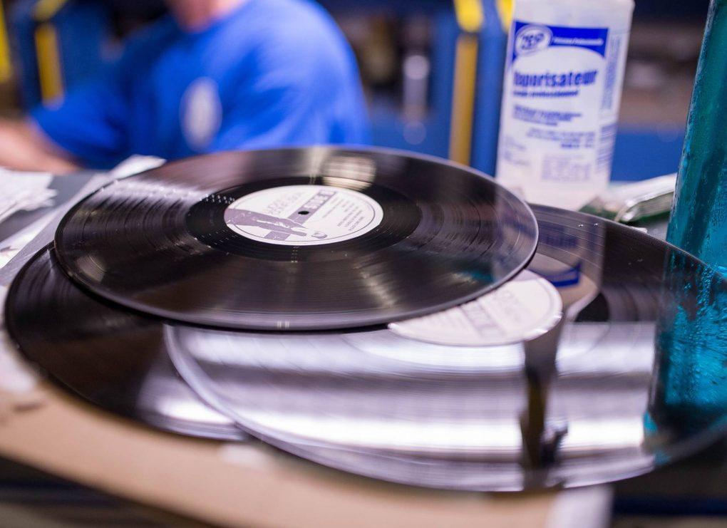 vinyl pressing steps